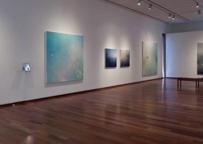 "Stu Oxley, ""Distant Grounds"", installation view, MacLaren Art Centre, 2015. Photo: André Beneteau"