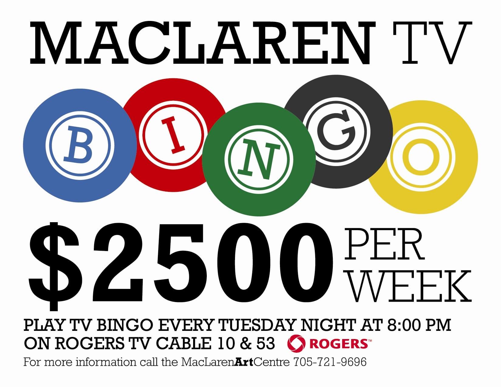 MacLaren TV Bingo - MacLaren Art Centre