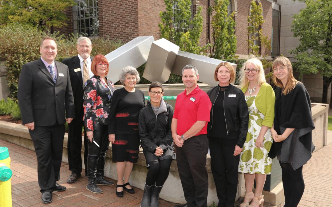 MacLaren celebrates Ontario 150 support for outdoor sculpture garden