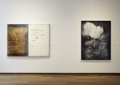 """Alice Teichert, """"Decipher"""", installation view, MacLaren Art Centre, 2016."""