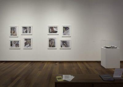 "Allyson Clay, ""Irregular Lines"", installation view, MacLaren Art Centre, 2016."