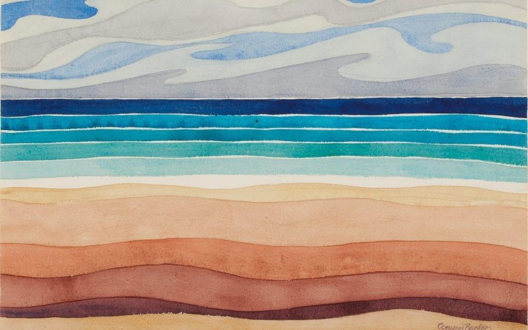 Ernest Conyers Barker: Watercolours Exhibit