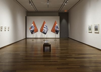 """""""Again and Once More, Again: Kristie MacDonald, Myfanwy MacLeod, Mitch Robertson"""", installation view, MacLaren Art Centre, 2016-17. Photo: André Beneteau"""