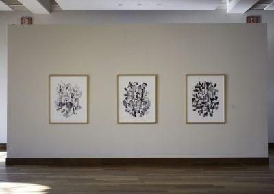 """Gary Evans, """"Farther Afield"""", installation view, MacLaren Art Centre, 2016."""