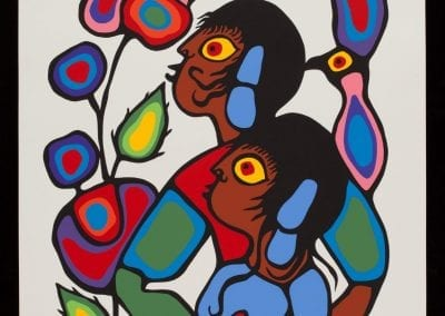Norval Morrisseau: Copper Thunderbird