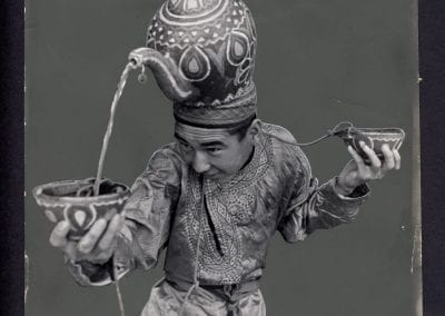 V. Grebnev, The Turkmenian Dance Ensemble, n.d., gelatin silver print.