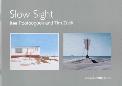 Slow Sight: Itee Pootoogook and Tim Zuck