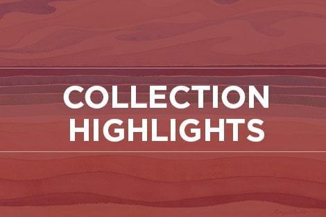 "Button linking to ""Collection Highlights"" webpage"