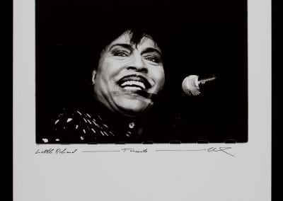 Viliam Hrubovcak, Little Richard, Toronto, n.d.