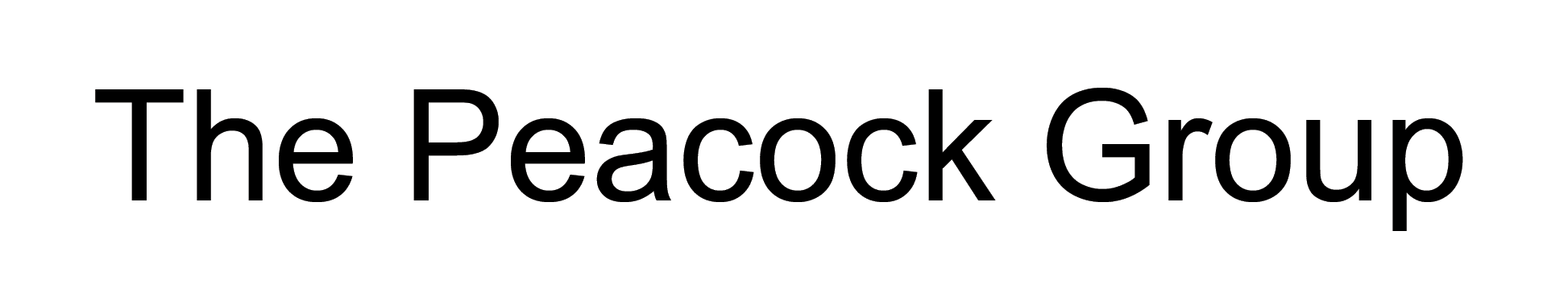 The Peacock Group logo
