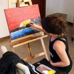 Introduction to Oil Painting (ages 10 to 13)
