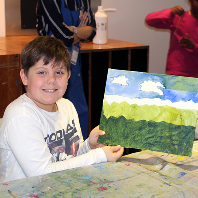 Pop-Up Workshop: The View From Here (ages 6 to 11)
