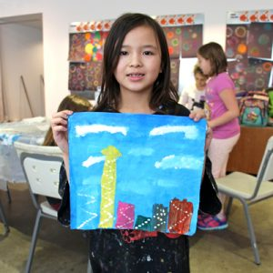 NEW! Back to the Future Art Camp (ages 6 to 11)
