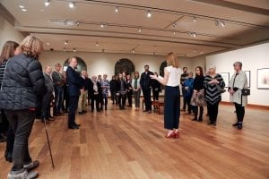 Reception for 2018 Winter Exhibitions