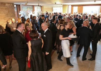 Wedding cocktail reception at the MacLaren Art Centre