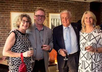 MacLaren Art Centre patrons at the Legacy Dinner event