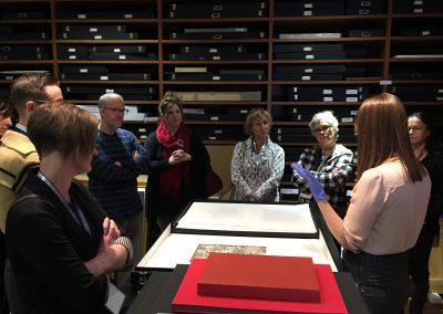 Behind-the-scenes building & collection tour, CMA Museum Enterprises Conference, January 25, 2019