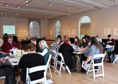 Art activity, CMA Museum Enterprises Conference, January 25, 2019