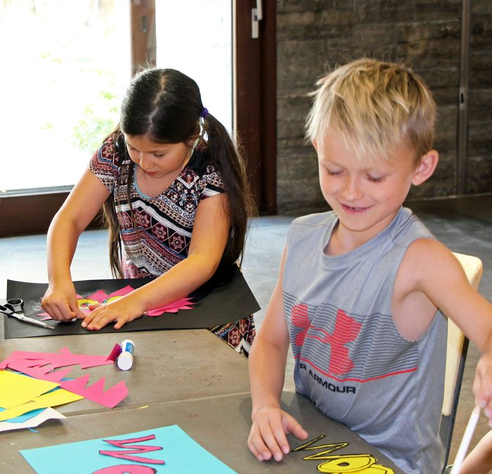 ImagineART Camp (ages 6 to 9)