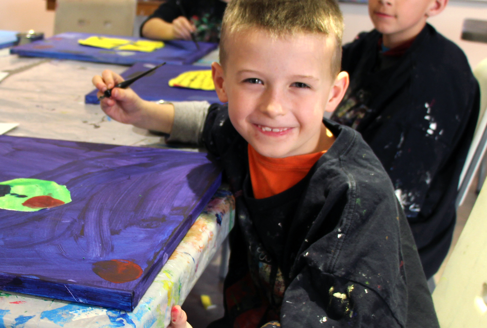 Master Painters Art Camp (ages 6 to 9)