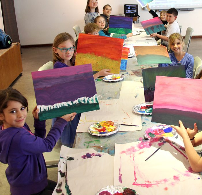 Painting: Vibrant Vistas (ages 6 to 9)