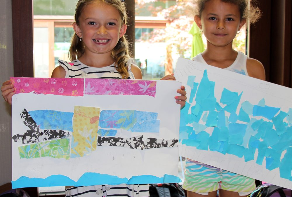 Rock, Paper, Scissors Art Camp (ages 6 to 9)