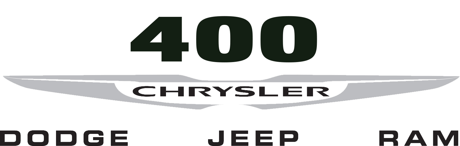 400 Chrysler Dodge Jeep Ram logo