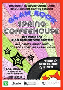 Glam Rockin' Spring Coffeehouse