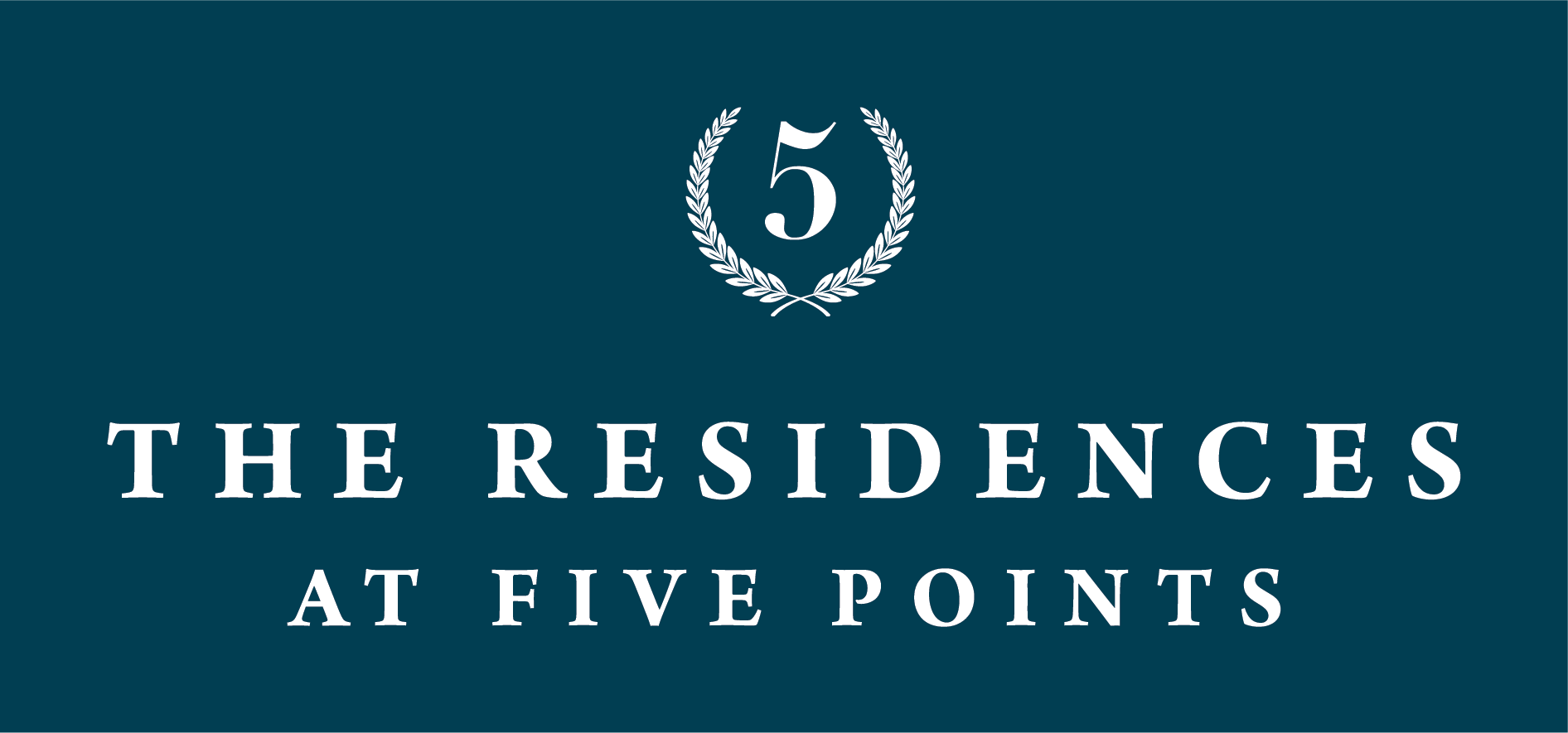 The Residences at the Five Points logo