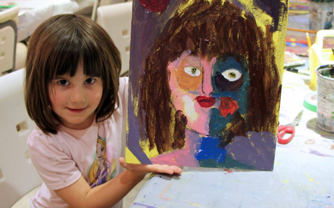 PA Day: Painted Portraits (ages 6 to 11) (SCDSB and SMCDSB)