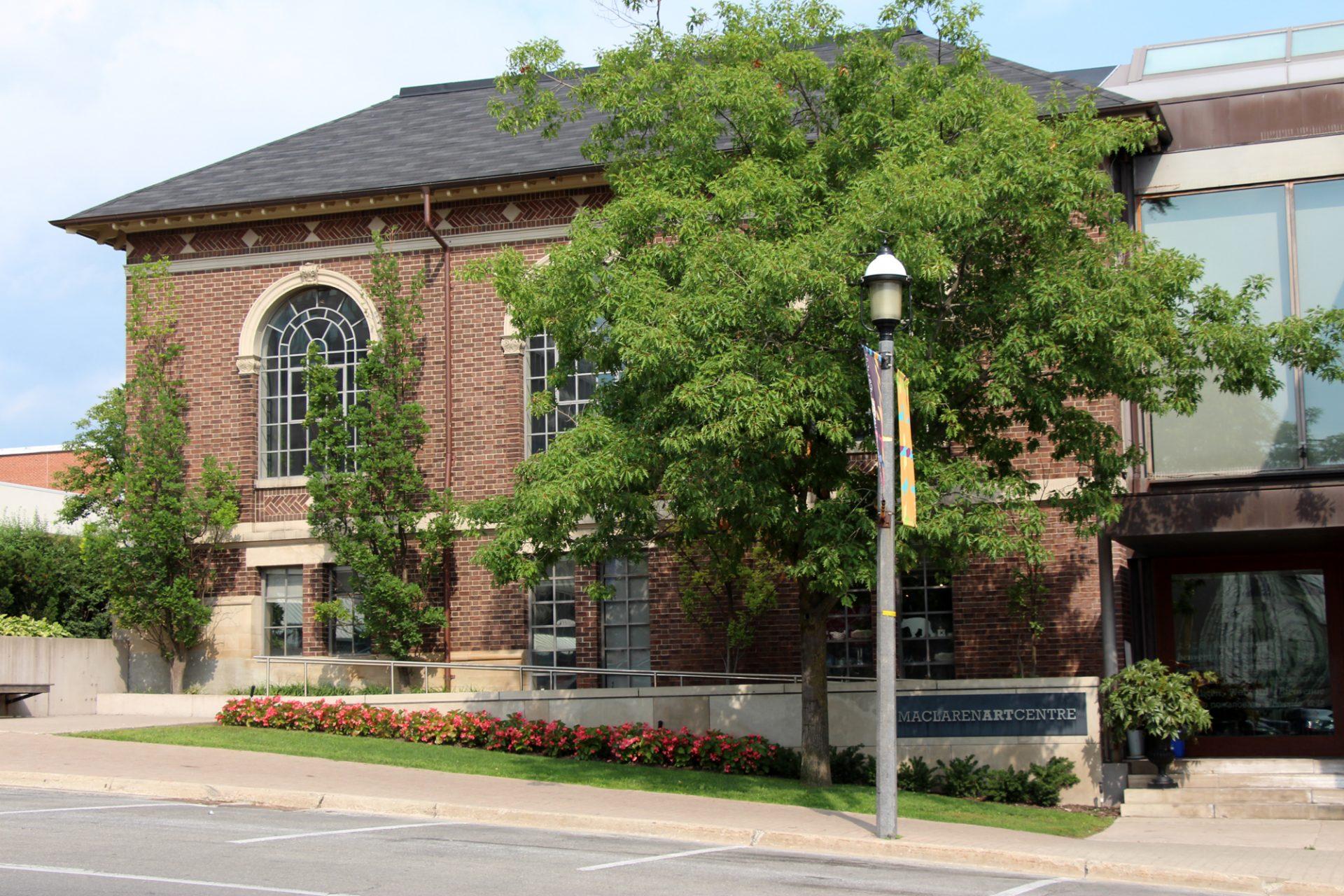 MacLaren Art Centre building