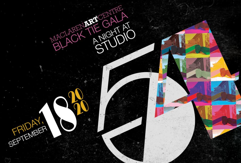 2020 MacLaren Black Tie Gala ad