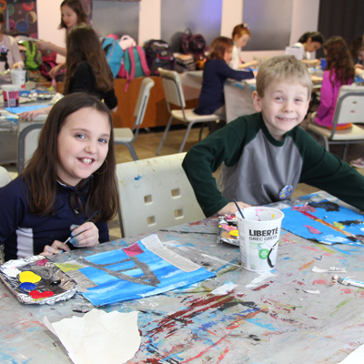 Mini-Matisse: Explorations in Painting (ages 7 to 10)