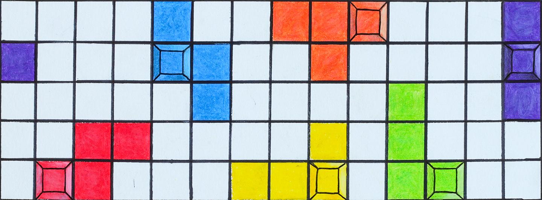 Artwork by Aidan Binns from Twin Lakes Secondary School