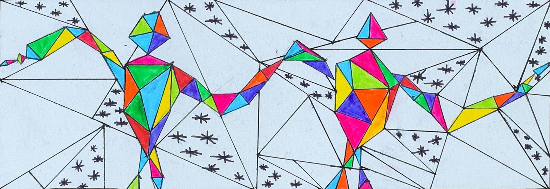 Artwork by Noah Flint from Twin Lakes Secondary School