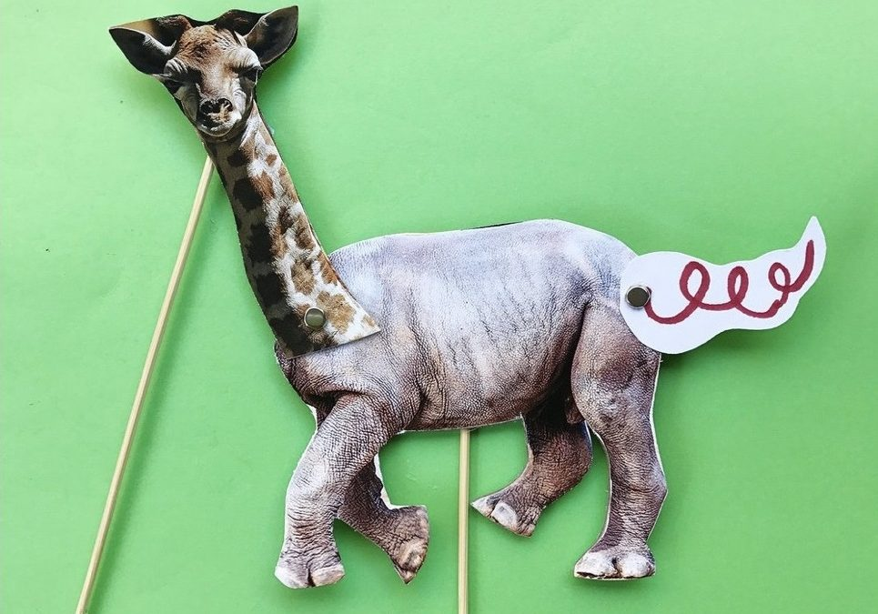Mix & Match Puppets with Midori Fullerton (ages 6 to 9)