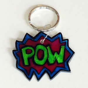 Shrinking Keychains with Sarah Hawley (ages 6 to 9)