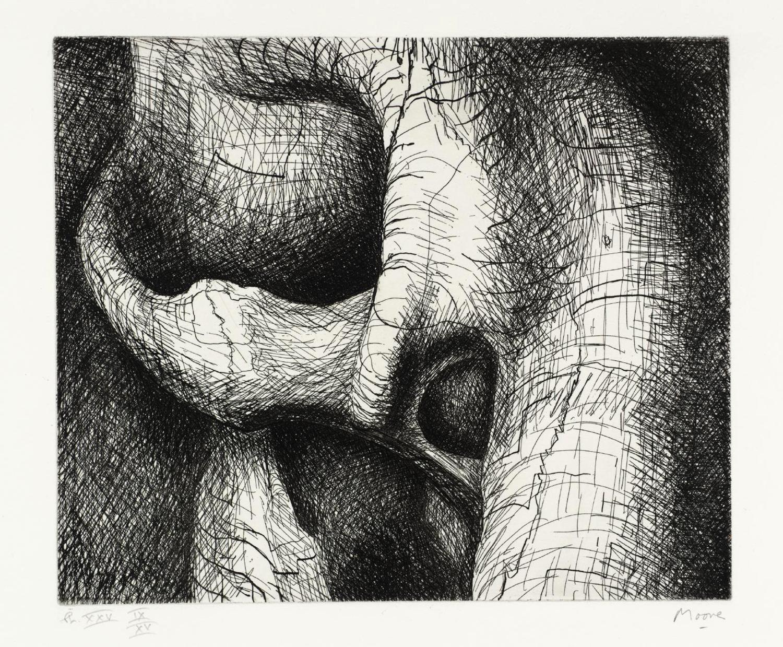 Digital inkjet print by Erika DeFreitas entitled arriver avant moi, devant moi (no. 5)