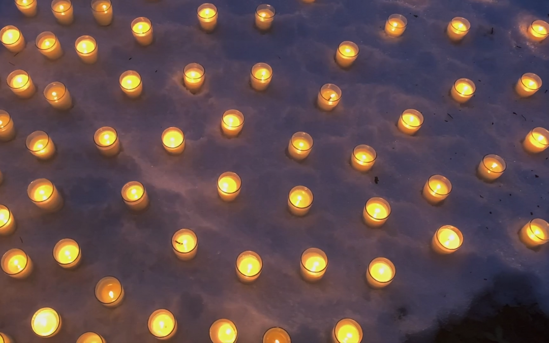 Candlelight Vigil for Roberta Place