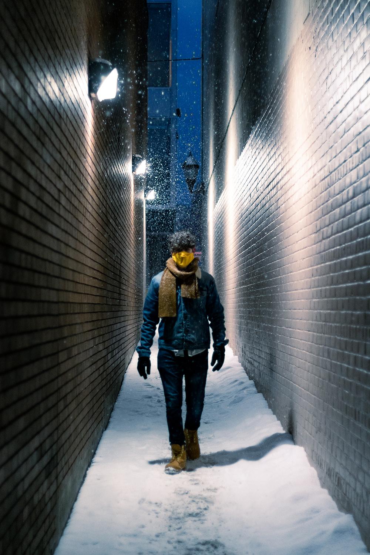 Alone by Ethan Kennedy-Munsterman, digital photograph - Banting Memorial High School