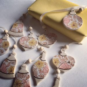 SOLD OUT! Art Party: Ceramic Ornaments with Bethany Scott
