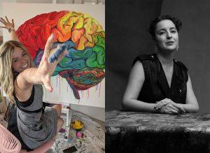 Artist Talk with Artist Alexandra Gronfors and Art Therapist Or Har-Gil