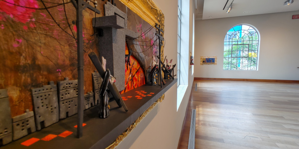 The MacLaren Art Centre is once again inviting you back inside!